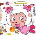 radiant lamb stickers (JDC491)